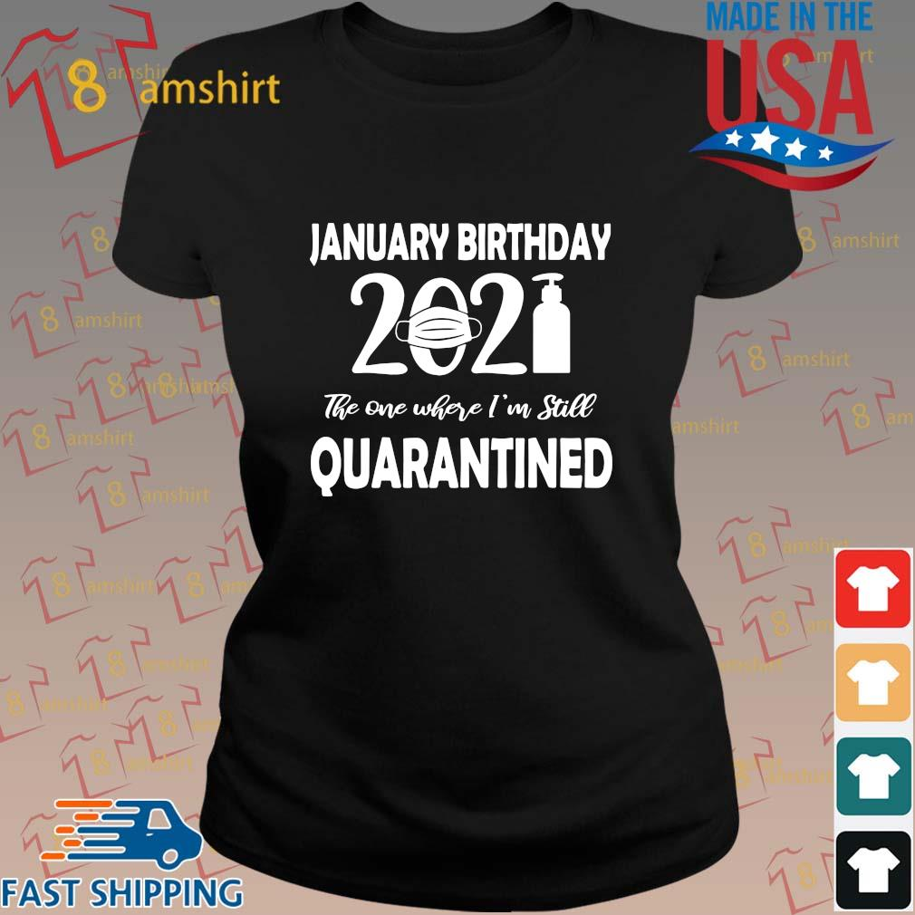 January Birthday 2021 face mask the one where I'm still quarantined s ladies den