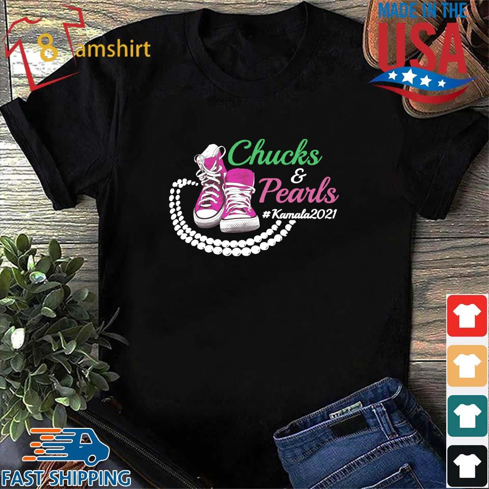 Kamala Harris Chucks And Pearls Aka Sorority 1908 Shirt, Sweater