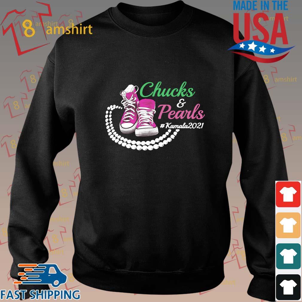 Kamala Harris Chucks And Pearls Aka Sorority 1908 Shirt, Sweater Sweater den