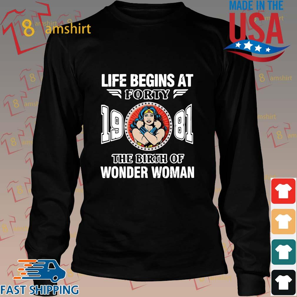 Life begins at forty 19 81 the birth of Wonder Woman s Long den
