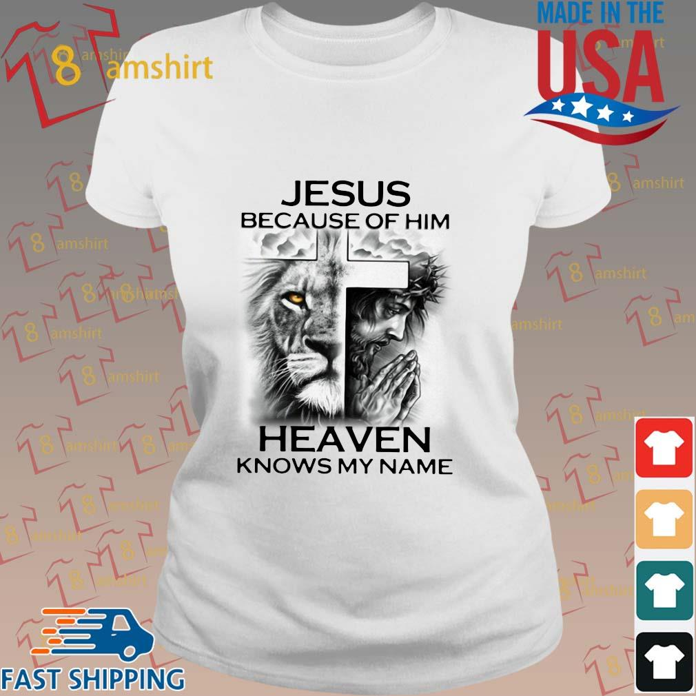 Lion Cross Jesus because of him heaven knows my name s ladies trang