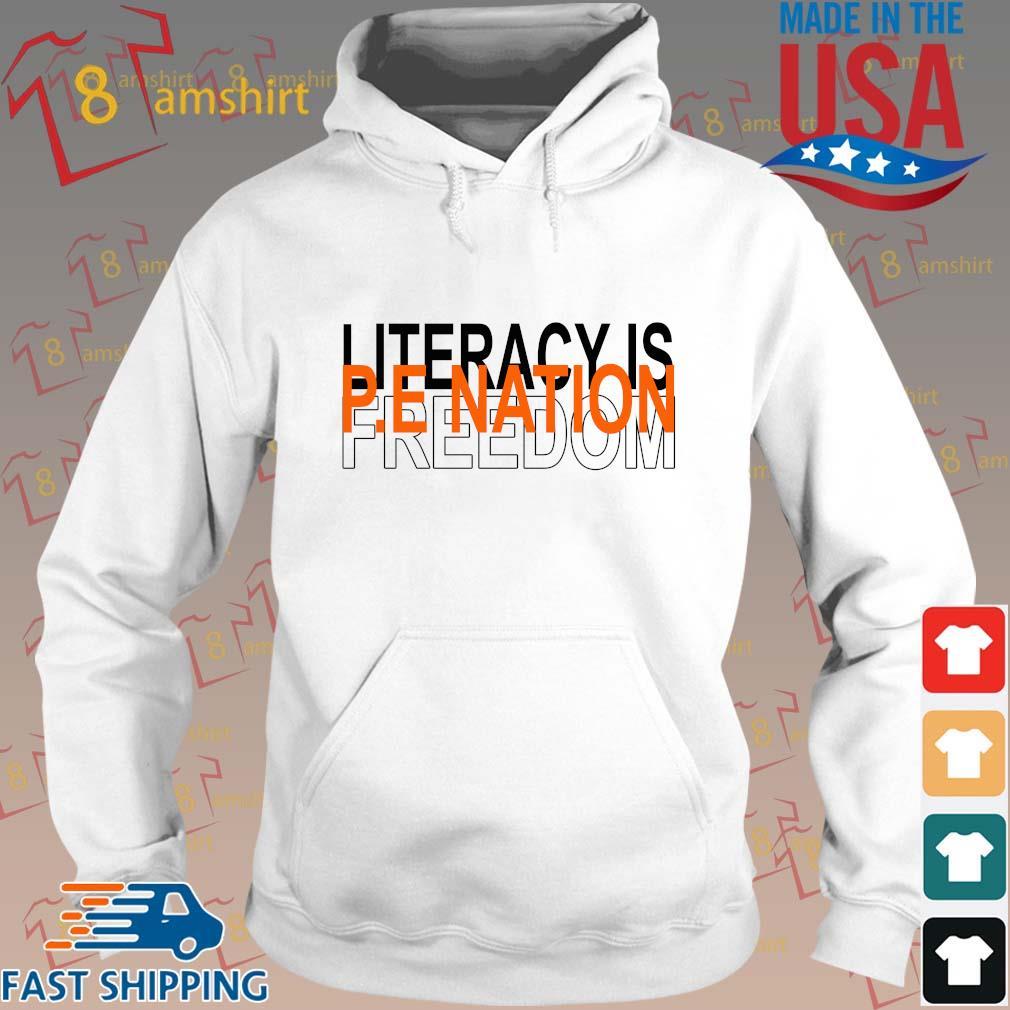 Literacy is pe nation freedom s Hoodie trang