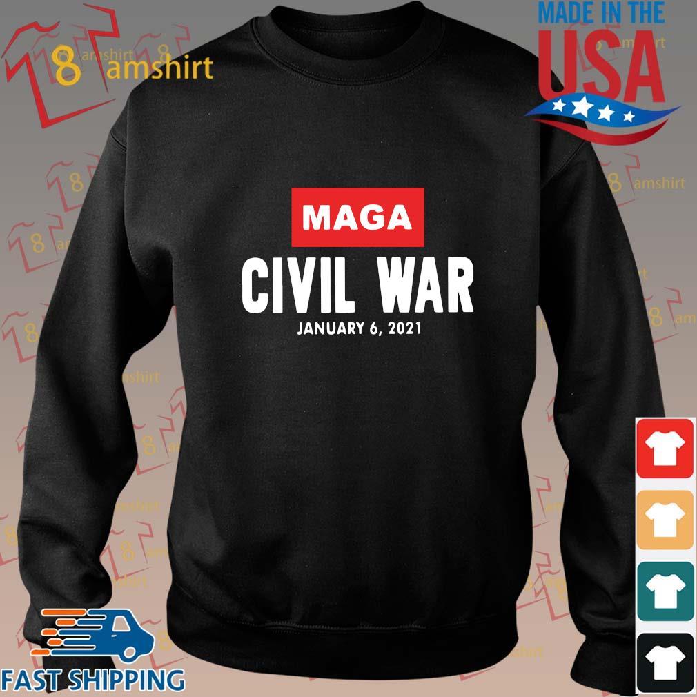 Maga civil war january 6 2021 shirt