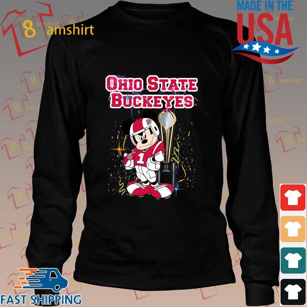 Mickey Mouse Ohio State Buckeyes Won s Long den