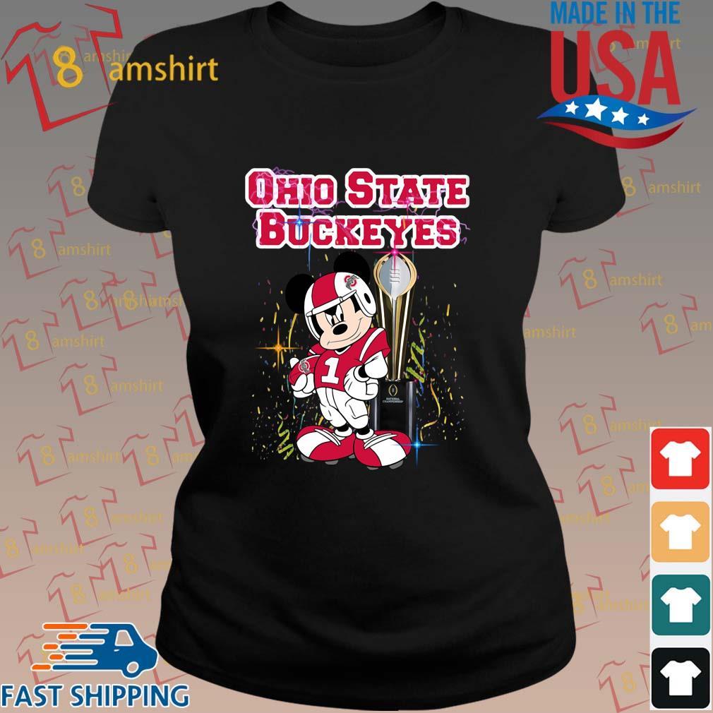 Mickey Mouse Ohio State Buckeyes Won s ladies den