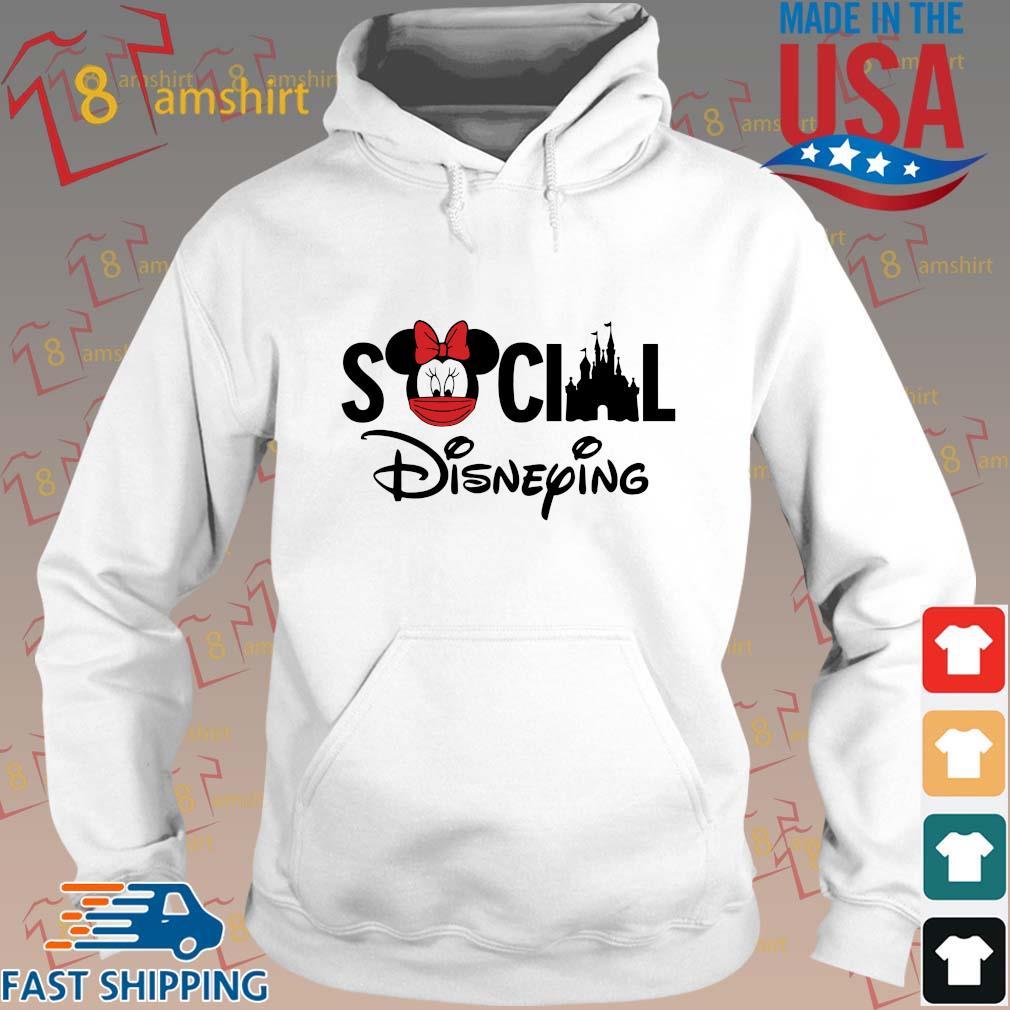 Minnie Mouse social Disneying s Hoodie trang