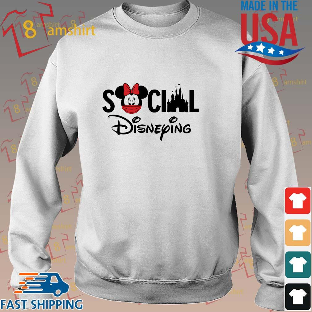 Minnie Mouse social Disneying shirt
