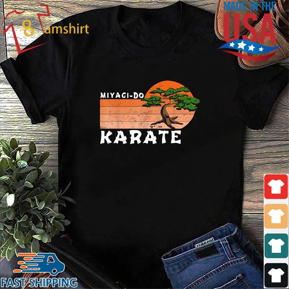 Miyagi-Do Karate Vintage Sunset Shirt Shirt den
