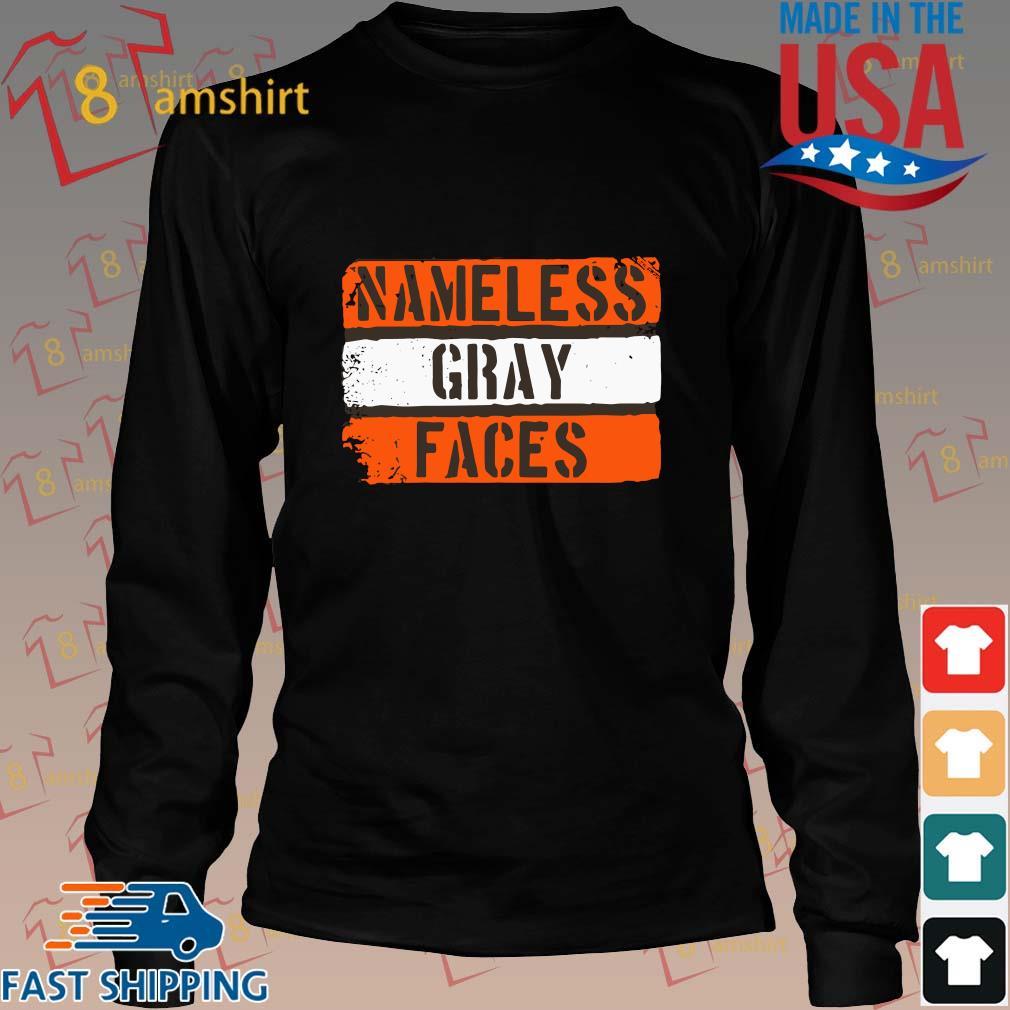 Nameless gray faces s Long den