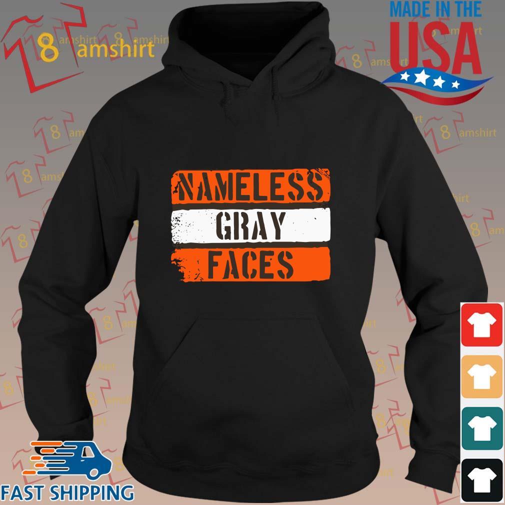 Nameless gray faces s hoodie den