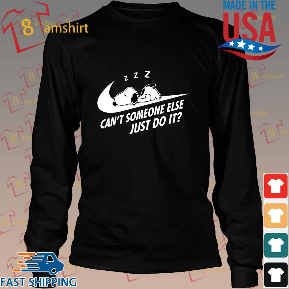 Nike Snoopy sleep can't someone else just do it s Long den