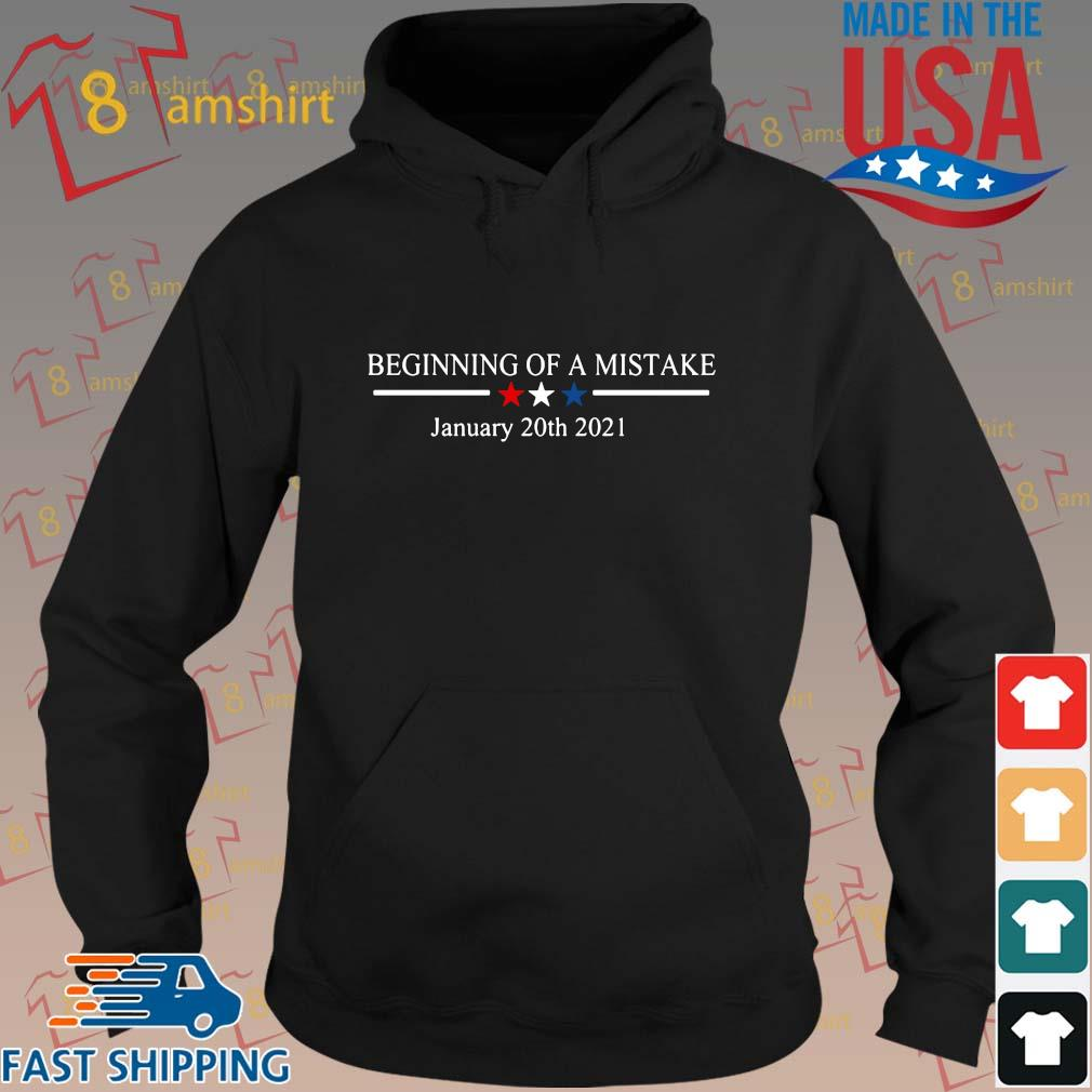 Official Beginning of a nightmare january 20th 2021 t-s hoodie den