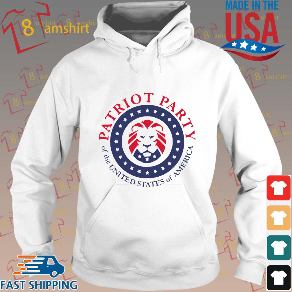 Official patriot party of the united states of America shirt, hoodie Hoodie trang