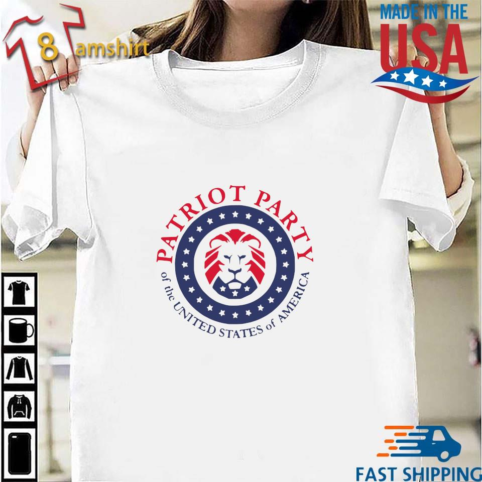 Official patriot party of the united states of America shirt, hoodie