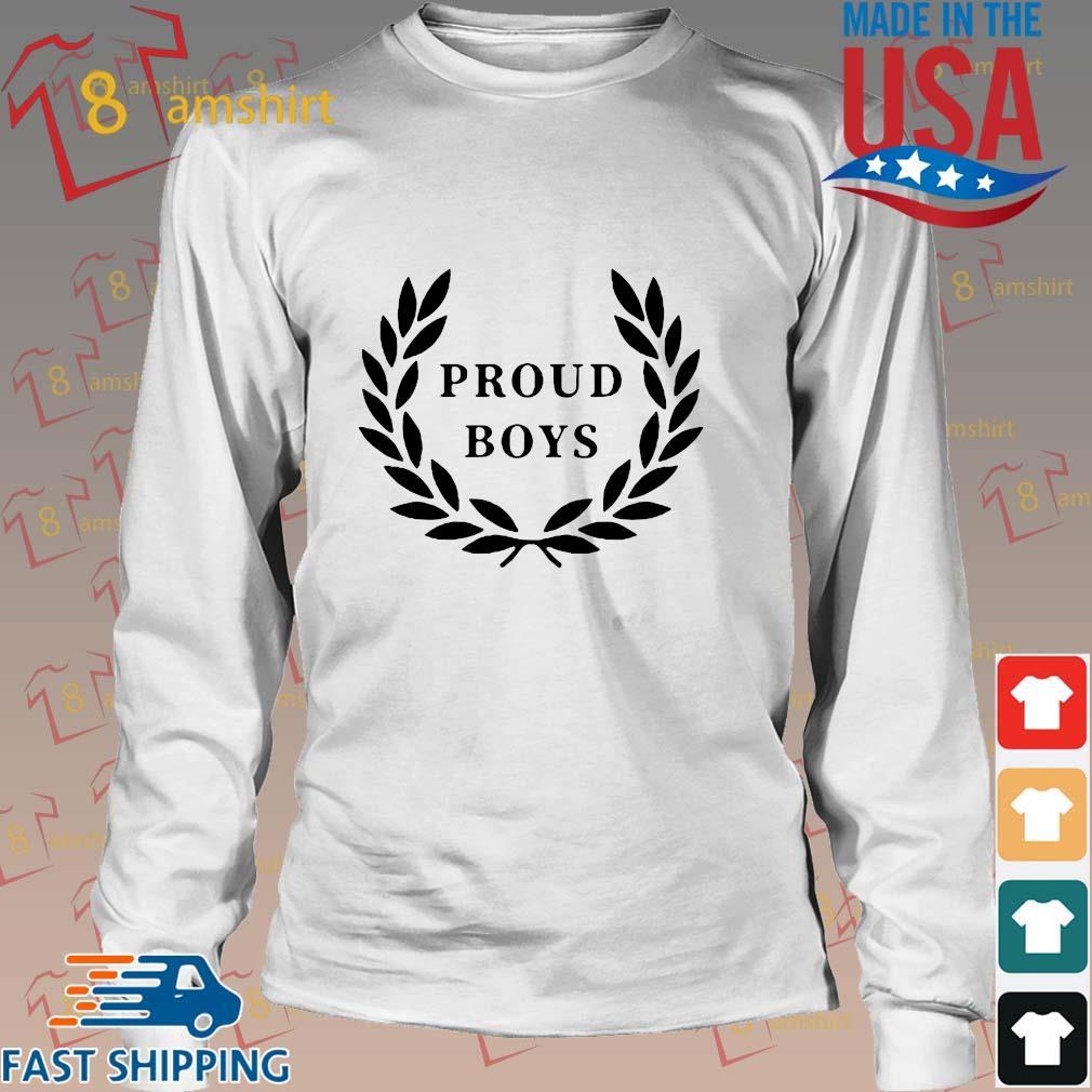 Official Proud Boys Shirts Long trang