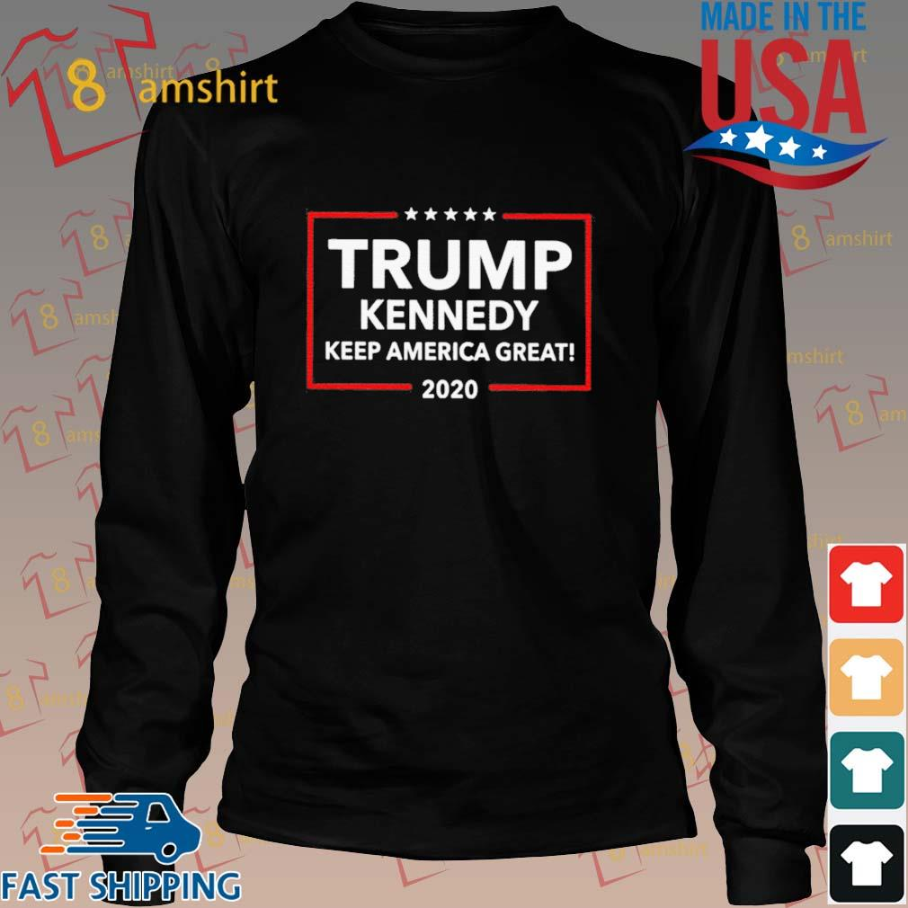 Official Trump Kennedy Keep America Great 2020 Shirt Long den