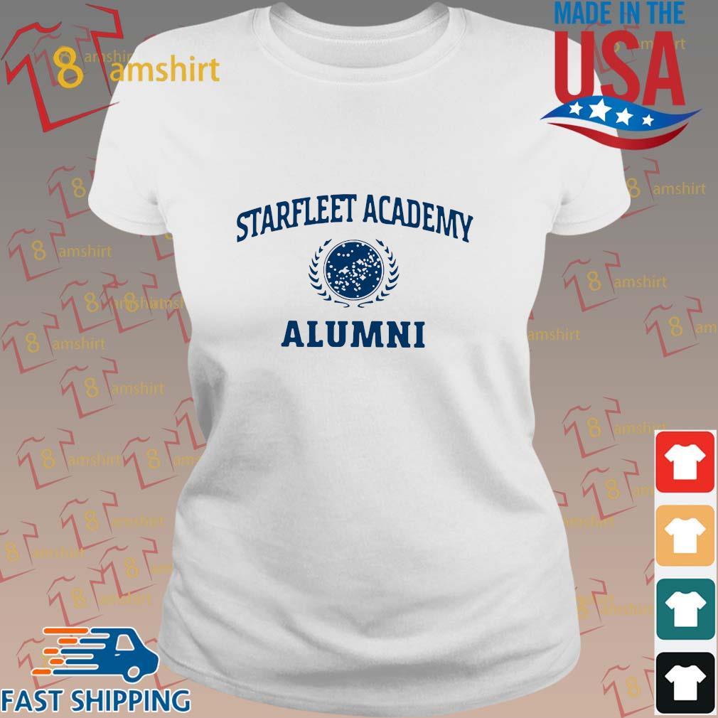 Star Trek Starfleet Academy Alumni Shirt ladies trang