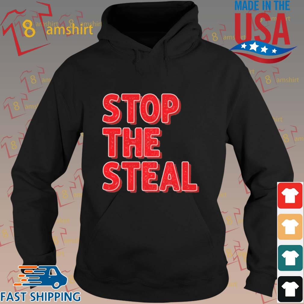 Stop The Steal Trump 2020 Voter Fraud Election Shirt hoodie den