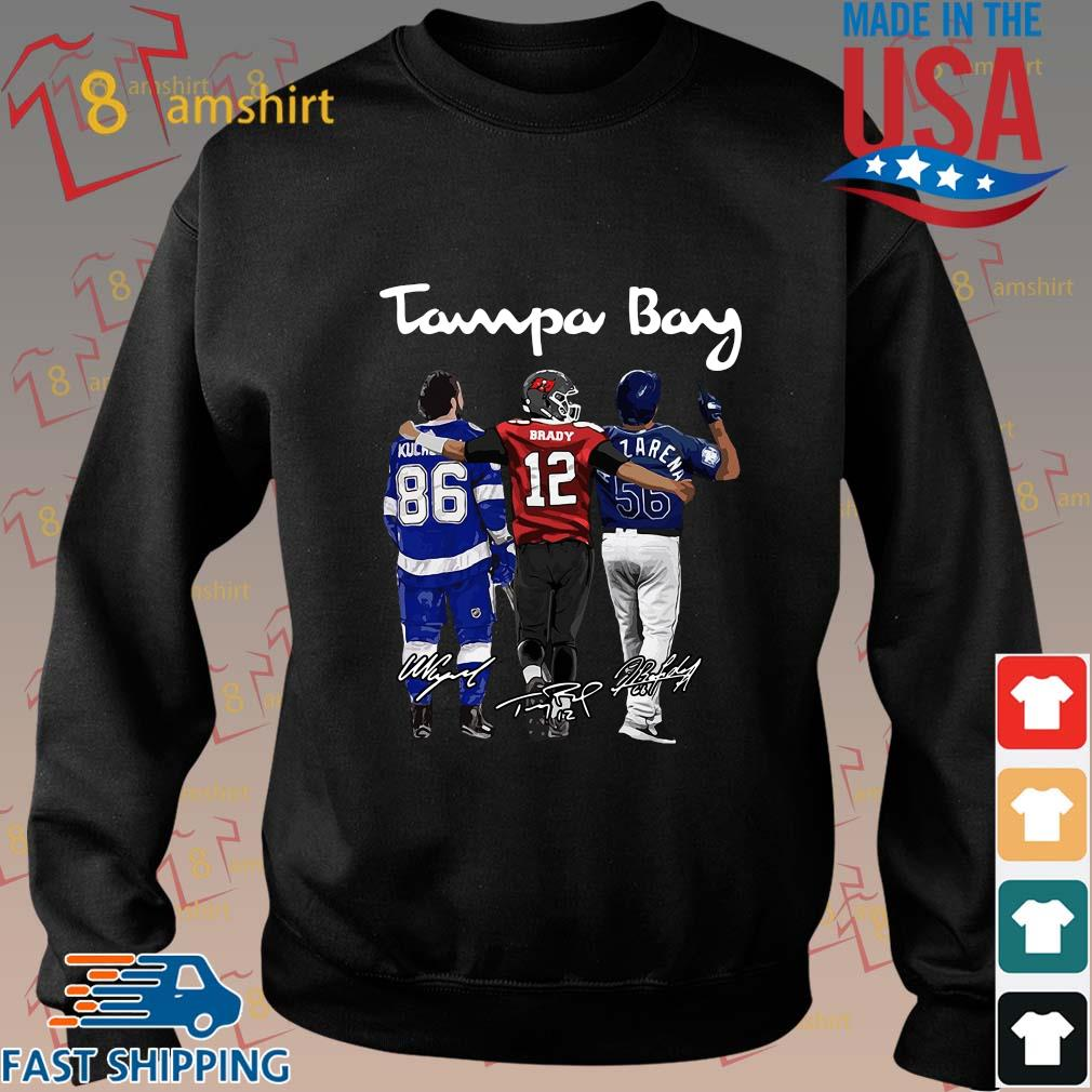 Tampa Bay Nikita Kucherov Tom Brady Mvp signatures shirts Sweater den