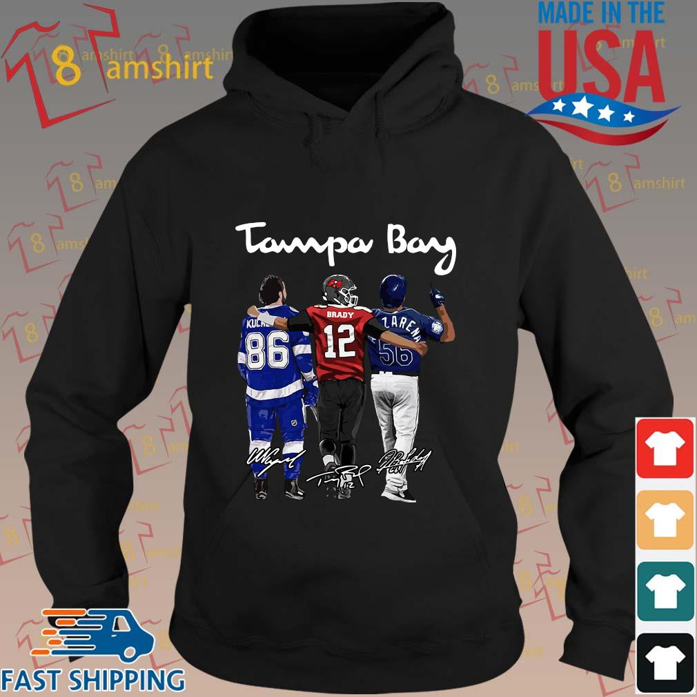 Tampa Bay Nikita Kucherov Tom Brady Mvp signatures shirts hoodie den